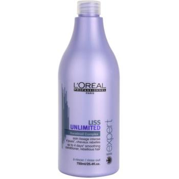 L'Oréal Professionnel Série Expert Liss Unlimited après-shampoing lissant pour cheveux indisciplinés et frisottis (Smoothing Conditioner for Rebellious Hair) 750 ml