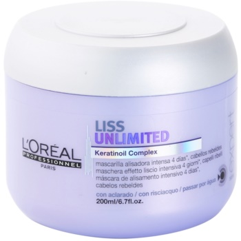 L'Oréal Professionnel Série Expert Liss Unlimited masque lissant pour cheveux indisciplinés et frisottis (Smoothing Masque for Rebellious Hair) 200 ml