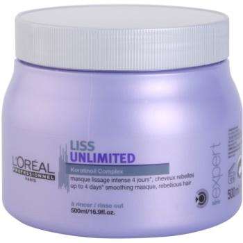 L'Oréal Professionnel Série Expert Liss Unlimited masque lissant pour cheveux indisciplinés et frisottis (Smoothing Masque for Rebellious Hair) 500 ml