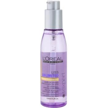 L'Oréal Professionnel Série Expert Liss Unlimited huile lissante pour cheveux indisciplinés (Smoothing Leave-in Oil) 125 ml