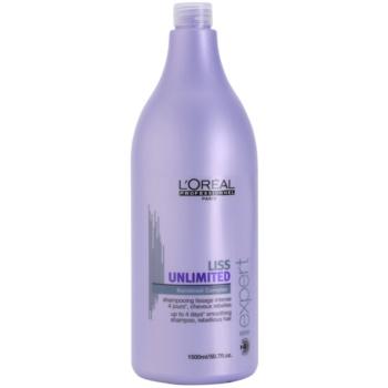 L'Oréal Professionnel Série Expert Liss Unlimited shampoing lissant pour cheveux indisciplinés et frisottis (Smoothing Shampoo for Rebellious Hair) 1500 ml
