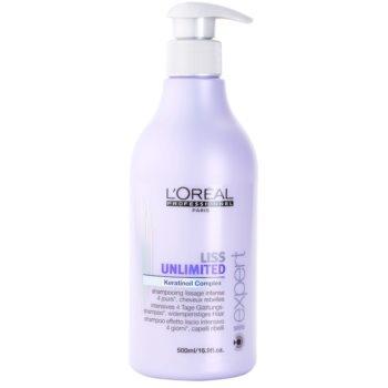 L'Oréal Professionnel Série Expert Liss Unlimited shampoing lissant pour cheveux indisciplinés et frisottis (Smoothing Shampoo for Rebellious Hair) 500 ml