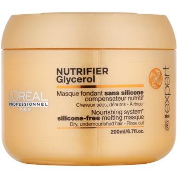 L'Oréal Professionnel Série Expert Nutrifier masque nourrissant pour chevex secs et abîmés sans silicone (Glycerol) 200 ml