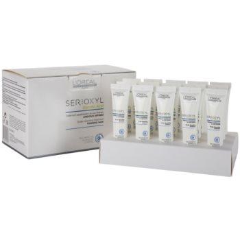 L'Oréal Professionnel Serioxyl cure nettoyante avant-shampoing pour cheveux affinés et cuir chevelu (Glycolic Acid) 15 x 15 ml