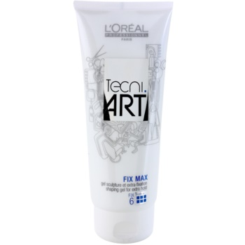 L'Oréal Professionnel Tecni Art Fix gel cheveux fixation et forme (Fix Max Shaping Gel for Extra Hold Force 6) 200 ml