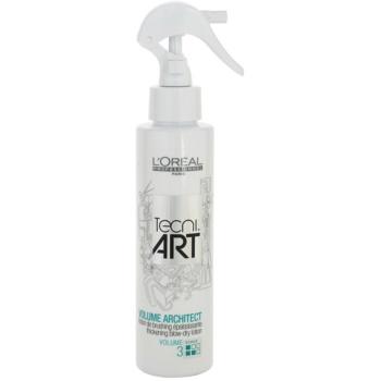 L'Oréal Professionnel Tecni Art Volume spray volume pour cheveux fins (Volume Architect Thickening Blow-Dry Lotion Force 3) 150 ml