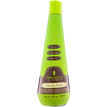 Macadamia Natural Oil Care shampoing léger hydratant pour donner du volume sans silicones ni sulfates (Volumizing Shampoo) 300 ml