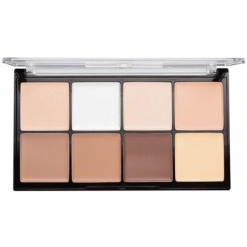 Makeup Revolution Ultra Pro HD Fair palette contour de visage crémeux 20 g