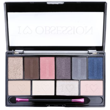 Makeup Revolution I ¦ Makeup I ¦ Obsession Palette palette de fards à paupières (Paris) 17 g