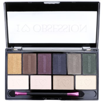 Makeup Revolution I ¦ Makeup I ¦ Obsession Palette palette de fards à paupières (West End Girls) 17 g