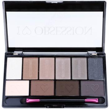 Makeup Revolution I ¦ Makeup I ¦ Obsession Palette palette de fards à paupières (Born To Die) 17 g