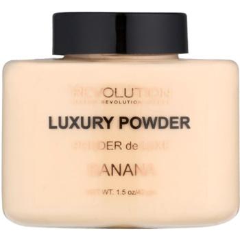 Makeup Revolution Luxury Powder poudre minérale teinte Banana 42 g