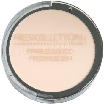 Makeup Revolution Pressed Powder poudre compacte teinte Porcelain 6,8 g