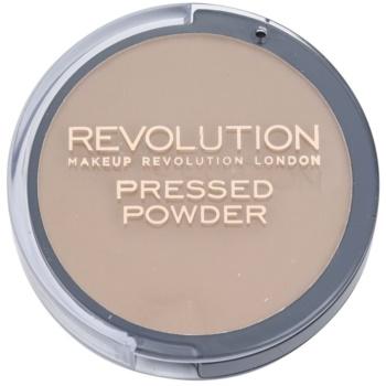 Makeup Revolution Pressed Powder poudre bronzante matifiante teinte Matte 7,5 g