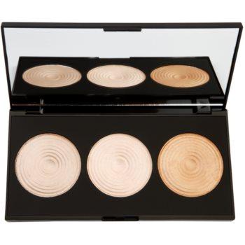 Makeup Revolution Radiance palette de poudres illuminatrices (3 Radiant Lights Highlighters) 15 g