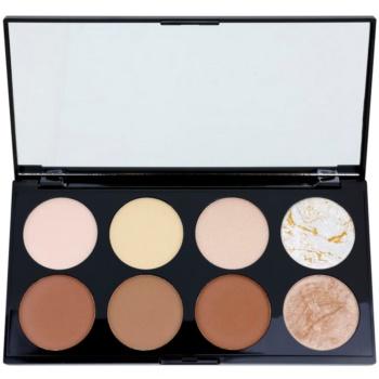 Makeup Revolution Ultra Contour palette contour de visage (Ultra Professional Contour Palette) 13 g