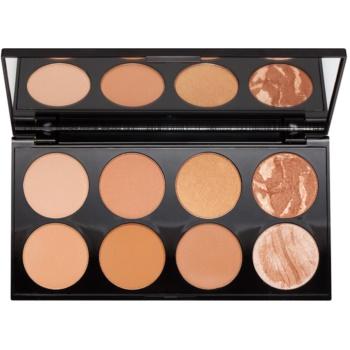 Makeup Revolution Ultra Bronze palette contour de visage (Ultra Professional Bronze Palette) 13 g