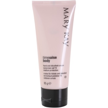 Mary Kay TimeWise Body crème protectrice anti-taches pigmentaires SPF 15 (Body Hand and decolte) 85 g