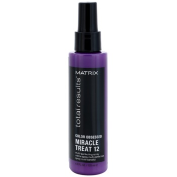 Matrix Total Results Color Obsessed soin sans rinçage pour cheveux colorés (Miracle Treat 12 Multi-Perfecting Spray) 125 ml