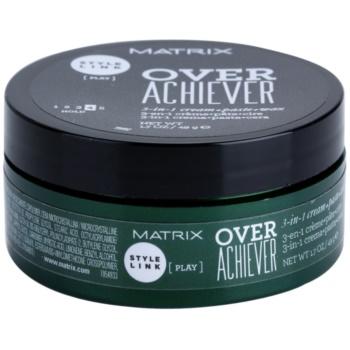 Matrix Style Link Play crème coiffante 3 en 1 (Cream + Paste + Wax, Hold 4) 50 ml