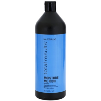Matrix Total Results Moisture Me Rich shampoing hydratant à la glycérine (Helps Nourish the Hair for Softness, Shine and Manageability) 1000 ml