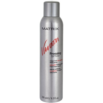Matrix Vavoom laque cheveux non-aérosol (Freezing Spray Mega Hold Non-Aerosol Fixing Spray) 250 ml