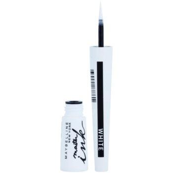 Maybelline Master Ink eyeliner liquide teinte 11 Matte White