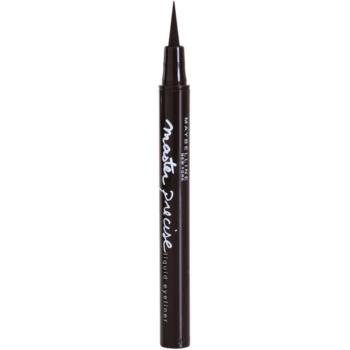 Maybelline Master Precise eyeliner liquide teinte 001 Forest 1 g
