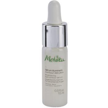 Melvita Nectar Bright sérum illuminateur contour des yeux 4 White Flowers (Brightening Eye-Contour Serum) 15 ml