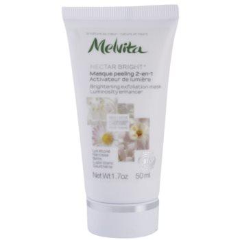 Melvita Nectar Bright masque exfoliant pour une peau lumineuse 5 White Flowers (Brightening Exfoliating Mask) 50 ml