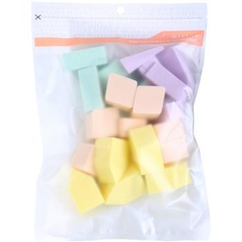 Missha Accessories éponge à maquillage grand format (Fresh Colorful Make Up Sponge) 25 pcs