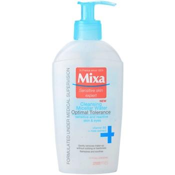MIXA 24 HR Moisturising eau micellaire nettoyante (Cleansing Micellar Water) 200 ml