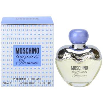 Moschino Toujours Glamour déodorant avec vaporisateur pour femme 50 ml