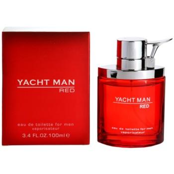 Myrurgia Yacht Man Red eau de toilette pour homme 100 ml