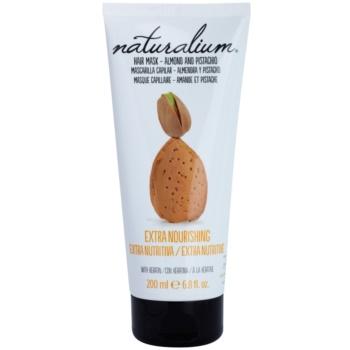 Naturalium Nuts Almond and Pistachio masque nourrissant à la kératine (0% Parabens) 200 ml