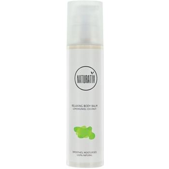 Naturativ Body Care Relaxing baume corporel effet hydratant Lemongrass, Coconut (Vegan Cosmetic) 200 ml