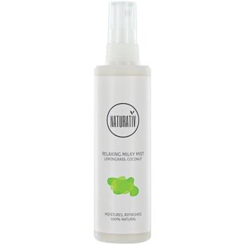 Naturativ Body Care Relaxing brume au lait hudratante et lissante Lemongrass & Coconut (Vegan Cosmetic) 125 ml
