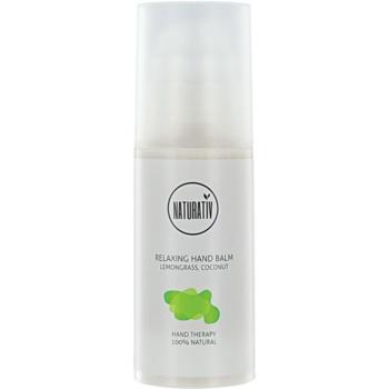 Naturativ Body Care Relaxing crème hydratante mains Lemongrass, Coconut (Natural Cosmetic) 100 ml