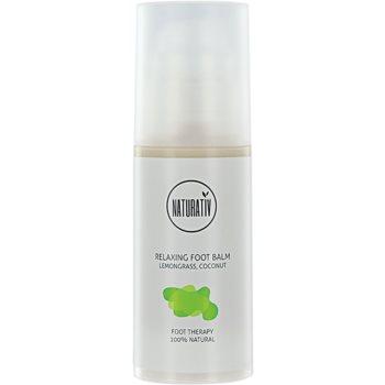 Naturativ Body Care Relaxing crème pieds effet régénérant Lemongrass, Coconut (Vegan Cosmetic) 100 ml