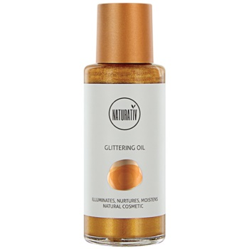 Naturativ Sun Care Sun Fun huile pailletée (Illuminates, Nurtures, Moistens) 100 ml