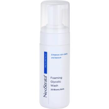 NeoStrata Resurface mousse purifiante en profondeur (Foaming Glycolic Wash 20 Bionic / AHA) 100 ml