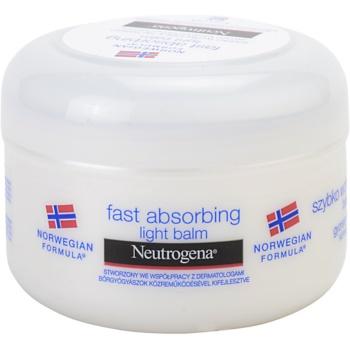 Neutrogena Body Care baume corporel à absorption rapide pour peaux normales (Fast Absorbing Body Balm - Light Texture) 200 ml