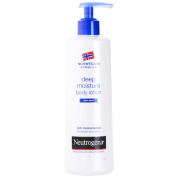 Neutrogena Body Care lait corporel hydratant en profondeur pour peaux sèches (Deep Moisturizing Body Milk) 250 ml