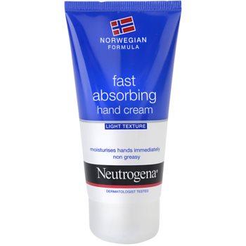 Neutrogena Hand Care crème mains à absorption rapide (Fast Absorbing Hand Cream – Light Texture) 75 ml