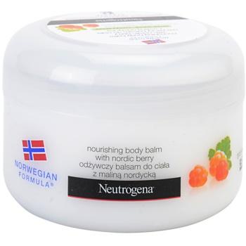 Neutrogena NordicBerry baume corporel nourrissant pour peaux sèches (Nourishing Body Balm) 200 ml