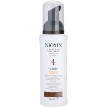 Nioxin System 4 traitement cuir chevelu anti-amincissement stade avancé des cheveux fins et traités chimiquement (Scalp & Hair Treatment Sunscreen Fine Hair Noticeably Thinning) 100 ml