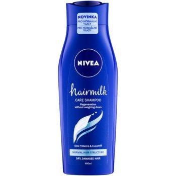 Nivea Hairmilk shampoing traitant pour cheveux normaux 400 ml