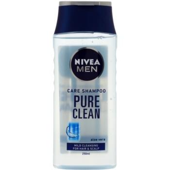 Nivea Men Pure Clean shampoing pour cheveux normaux (Shampoo) 250 ml