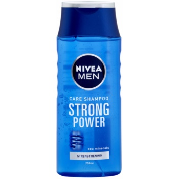 Nivea Men Strong Power shampoing pour cheveux normaux (Shampoo with Sea Minerals) 250 ml