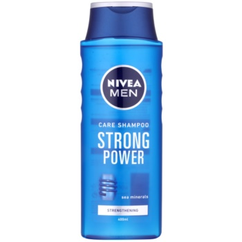 Nivea Men Strong Power shampoing pour cheveux normaux (Shampoo with Sea Minerals) 400 ml